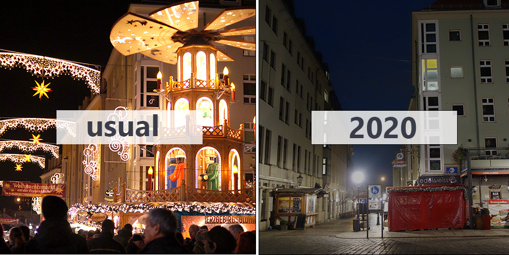 cancelled Christmas market in Germany due to the corona situation